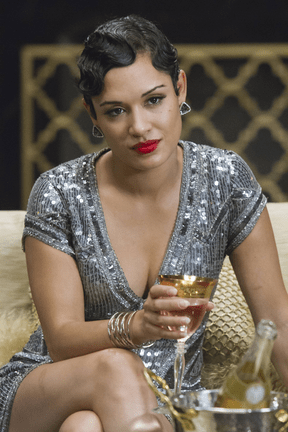 """EMPIRE: Anika (Grace Gealey) watches a performance in the """"The Devil Quotes Scripture"""" episode airing Wednesday, Jan. 21 (9:00-10:00 PM ET/PT) on FOX. . ©2014 Fox Broadcasting Co. CR: Chuck Hodes/FOX"""