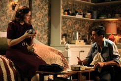 """MARVEL'S AGENT CARTER - """"The Blitzkrieg Button"""" - Peggy may be in more trouble than usual when fugitive Howard Stark suddenly returns for mysterious reasons. And Chief Dooley chases a new clue all the way to Europe that threatens to destroy Peggy's future at the SSR, on """"Marvel's Agent Carter,"""" TUESDAY, JANUARY 27 (9:00-10:00 p.m., ET) on the ABC Television Network. (ABC/Matt Kennedy) HAYLEY ATWELL, DOMINIC COOPER"""