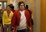 """GLEE: Guest star Noah Gurthrie as Roderick, a shy boy in the second part of the special two-hour """"Loser Like Me/Homecoming"""" Season Premiere episode of GLEE on Friday, Jan. 9 (8:00-10:00 PM ET/PT) on FOX. ©2014 Fox Broadcasting Co. CR: Jennifer Clasen/FOX"""