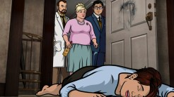 "ARCHER: Episode 3, Season 6 ""The Archer Sanction"" (Airing Thursday, January 22, 10:00 PM e/p) Archer, Lana and Ray climb their way to the top of an assassin's hit list. Pictured: (L-R) Dr. Krieger (voice of Lucky Yates), Pam Poovey (voice of Amber Nash), Cyril Figgis (voice of Chris Parnell), Cheryl Tunt (voice of Judy Greer). CR: FX"