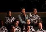 """GLEE: Will (Matthew Morrison, C) and his team watch the New Directions perform in the """"The Hurt Locker, Part Two"""" episode of GLEE airing Friday, Jan. 30 (9:00-10:00 PM ET/PT) on FOX. ©2014 Fox Broadcasting Co. CR: Jennifer Clasen/FOX"""