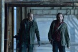 """12 MONKEYS -- """"Mentally Divergent"""" Episode 102 -- Pictured: (l-r) Kirk Acevedo as Ramse, Aaron Stanford as Cole -- (Photo by: Ben Mark Holzberg/Syfy)"""