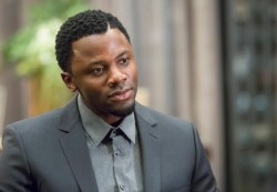 """EMPIRE: Derek Luke guest-stars as Malcolm Devoe, head of Empire security, in the """"Out Damned Spot"""" episode of EMPIRE airing Wednesday, Feb. 11 (9:01-10:00 PM ET/PT) on FOX. ©2015 Fox Broadcasting Co. CR: Chuck Hodes/FOX"""
