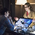 """Arrow -- """"Nanda Parbat"""" -- Image AR315C_0124b -- Pictured (L-R): Brandon Routh as Ray Palmer and Emily Bett Rickards as Felicity Smoak -- Photo: Dean Buscher/The CW -- �© 2015 The CW Network, LLC. All Rights Reserved."""