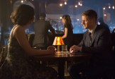 "GOTHAM: Detective James Gordon (Ben McKenzie, R) and Dr. Leslie Thompkins (guest star Morena Baccarin, L) go on a date in the ""The Fearsome Dr. Crane"" episode of GOTHAM airing Monday, Feb. 2 (8:00-9:00 PM ET/PT) on FOX. ©2015 Fox Broadcasting Co. Cr: Jessica Miglio/FOX"