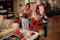 "PARKS AND RECREATION -- ""Donna and Joe"" Episode 703 -- Pictured: Rachel Dratch as Roz -- (Photo by: Tyler Golden/NBC)"