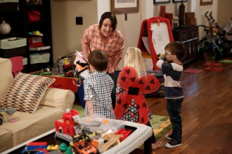 """PARKS AND RECREATION -- """"Donna and Joe"""" Episode 703 -- Pictured: Rachel Dratch as Roz -- (Photo by: Tyler Golden/NBC)"""