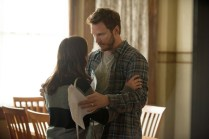 "PARKS AND RECREATION -- ""2017"" Episode 701 -- Pictured: (l-r) Aubrey Plaza as April Ludgate, Chris Pratt as Andy Dwyer -- (Photo by: Colleen Hayes/NBC)"