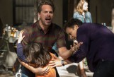 """THE SLAP -- """"Hector"""" Episode 101 -- Pictured: (l-r) Thomas Sadoski as Gary, Peter Sarsgaard as Hector -- (Photo by: Virginia Sherwood/NBC)"""