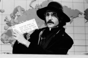 SNL 40TH ANNIVERSARY SPECIAL -- Season 5, Episode 1 -- Pictured: Don Novello as Father Guido Sarducci during the 'Weekend Update' skit on October 13, 1979 -- (Photo by: Fred Hermansky/NBC)