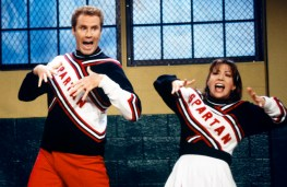 SNL 40TH ANNIVERSARY SPECIAL -- Season 23, Episode 2 -- Pictured: (l-r) Will Ferrell as Craig Buchanan, Cheri Oteri as Arianna during the 'Practice' skit on October 4, 1997 -- (Photo by: Mary Ellen Matthews/NBC)
