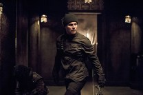 """Arrow -- """"Nanda Parbat"""" -- Image AR315B_0419b -- Pictured: Stephen Amell as Oliver Queen -- Photo: Cate Cameron/The CW -- © 2015 The CW Network, LLC. All Rights Reserved."""