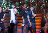"""EMPIRE: Jamal (Jussie Smollett, L) and Hakeem (Bryshere Gray, R) perform together in the special two-hour """"Die But Once/Who I Am"""" Season Finale episode of EMPIRE airing Wednesday, March 18 (8:00-10:00 PM ET/PT) on FOX. CR: Chuck Hodes/FOX"""