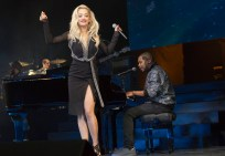 """EMPIRE: Rita Ora performs as herself in the special two-hour """"Die But Once/Who I Am"""" Season Finale episode of EMPIRE airing Wednesday, March 18 (8:00-10:00 PM ET/PT) on FOX. CR: Chuck Hodes/FOX"""