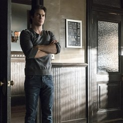 """The Vampire Diaries -- """"A Bird in a Gilded Cage"""" -- Image Number: VD617a_0042.jpg -- Pictured: Ian Somerhalder as Damon -- Photo: Tina Rowden/The CW -- �© 2015 The CW Network, LLC. All rights reserved."""