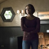 """The Vampire Diaries -- """"A Bird in a Gilded Cage"""" -- Image Number: VD617a_0017.jpg -- Pictured: Kat Graham as Bonnie -- Photo: Tina Rowden/The CW -- �© 2015 The CW Network, LLC. All rights reserved."""