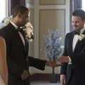 """Arrow -- """"Suicidal Tendencies"""" -- Image AR317A_0211b -- Pictured (L-R): David Ramsey as John Diggle and Stephen Amell as Oliver Queen -- Photo: Katie Yu/The CW -- �© 2015 The CW Network, LLC. All Rights Reserved."""