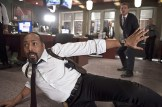 """The Flash -- """"Out of Time"""" -- Image FLA115B_0347b -- Pictured (L-R): Jesse L. Martin as Detective Joe West and Rick Cosnett as Detective Eddie Thawne -- Photo: Diyah Pera/The CW -- © 2015 The CW Network, LLC. All rights reserved."""
