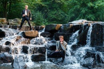 Chris Pine is the Prince and Billy Magnussen is the other Prince in Disney's humorous and heartfelt musical INTO THE WOODS directed by Rob Marshall and produced by John DeLuca, Rob Marshall, Marc Platt and Callum McDougall.