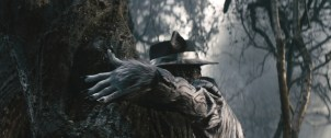 Johnny Depp fills the shoes of the Big Bad Wolf in INTO THE WOODS. Based on the Tony?-winning musical by James Lapine, who also penned the screenplay, and legendary composer Stephen Sondheim, who provides the music and lyrics, the film is in theaters Dec. 25, 2014. ?2014 Disney Enterprises, Inc. All Rights Reserved.