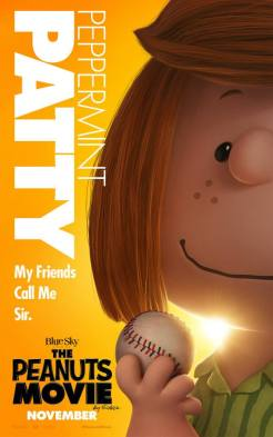 Peanuts Movie in theaters November 6, 2015 (Patty)