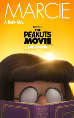 Peanuts Movie in theaters November 6, 2015 (Marcie)