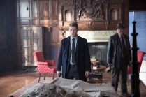 GOTHAM: Gordon (Ben McKenzie, L) and Bullock (Donal Logue, R) follow a lead they believe will help them find the Ogre in the ÒUnder the KnifeÓ episode of GOTHAM airing Monday, April 20 (8:00-9:00 PM ET/PT) on FOX. ©2015 Fox Broadcasting Co. Cr: Jessica Miglio/FOX