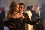 GOTHAM: Barbara (Erin Richards, L) meets Jason Lennon (guest star Milo Ventimiglia, R) at a charity ball in the ÒUnder the KnifeÓ episode of GOTHAM airing Monday, April 20 (8:00-9:00 PM ET/PT) on FOX. ©2015 Fox Broadcasting Co. Cr: Jessica Miglio/FOX