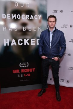 "MR. ROBOT -- ""Tribeca Film Festival Premiere of ""MR. ROBOT"" in New York, NY on Sunday, April 26, 2015 "" -- Pictured: Martin Wallstrom ""Mr. Robot"" -- (Photo by: Neilson Barnard/USA Network)"