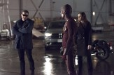 """The Flash -- """"Rogue Air"""" -- Image FLA122A_0057b -- Pictured (L-R): Wentworth Miller as Leonard Snart / Captain Cold, Grant Gustin as Barry Allen / The Flash and Danielle Panabaker as Caitlin Snow -- Photo: Dean Buscher/The CW -- �© 2015 The CW Network, LLC. All rights reserved."""
