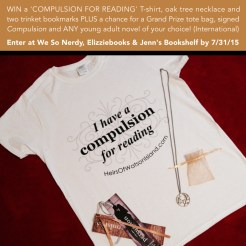 """""""Persuasion"""" by Martina Boone Giveaway T-shirt prize pack."""