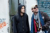 "MR. ROBOT -- ""hellofriend.mov"" Episode 101 -- Pictured: (l-r) Rami Malek as Elliot, Christian Slater as Mr. Robot -- (Photo by: David Giesbrecht/USA Network)"