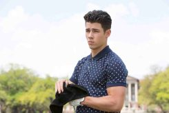"""SCREAM QUEENS: Guest star Nick Jonas as Boone in """"Pilot,"""" the first part of the special, two-hour series premiere of SCREAM QUEENS airing Tuesday, Sept. 22 (8:00-10:00 PM ET/PT) on FOX. ©2015 Fox Broadcasting Co. Cr: Steve Dietl/FOX."""