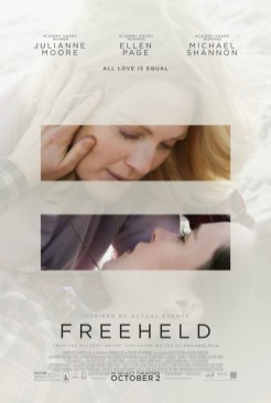 Julianne Moore & Ellen Page Prove that #LoveIsLove in New 'Freeheld' Clip & Posters