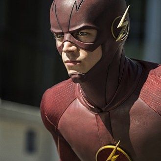 """The Flash --""""The Man Who Saved Central City"""" -- Image FLA201C_0116 -- Pictured: Grant Gustin as The Flash -- Photo Credit -- Cate Cameron/The CW -- �© 2015 The CW Network, LLC. All Rights Reserved"""