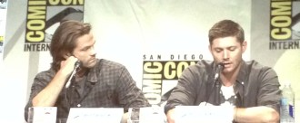 Supernatural SDCC 2015 Panel; Jared Padalecki and Jensen Ackles; Photo Credit: We So Nerdy
