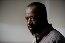 Lennie James as Morgan Jones - The Walking Dead _ Season 6, Episode 8 - Photo Credit: Gene Page/AMC