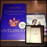 """WSN 2nd Annual Holiday Giveaway; """"Outlander"""" DVD and autographed book"""
