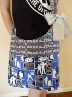 SATURDAY SHOUT-OUT: Glorious Zanymouse Creations (STAR WARS messenger bag: Photo Credit Zanymouse Creations)