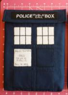 SATURDAY SHOUT-OUT: Glorious Zanymouse Creations (DOCTOR WHO TARDIS iPad Case: Photo Credit Zanymouse Creations)