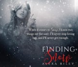 BOOK REVIEW & EXCERPT: 'Finding Snow' by Alexa Riley