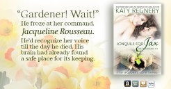 SPOTLIGHT: 'Jonquils for Jax' by Katy Regnery