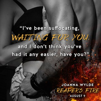 SPOTLIGHT: 'Reaper's Fire' by Joanna Wylde