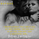 """SPOTLIGHT: 'The Trouble with Before"""" by Portia Moore"""
