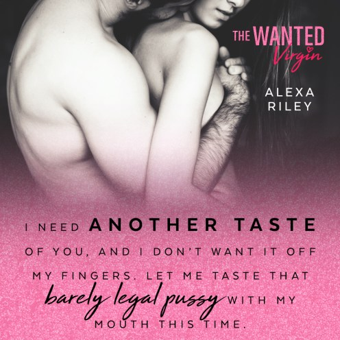 SPOTLIGHT: 'The Wanted Virgin' by Alexa Riley