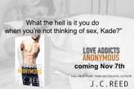 SPOTLIGHT: 'Love Addicts Anonymous' by J.C. Reed