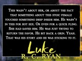 SPOTLIGHT: 'Luke' by R.C. Ryan