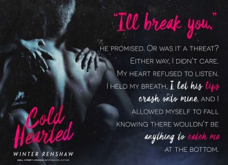 SPOTLIGHT: 'Cold Hearted' by Winter Renshaw