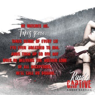 SPOTLIGHT: 'King's Captive' by Amber Bardan