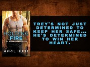 SPOTLIGHT/GIVEAWAY: 'Holding Fire' by April Hunt
